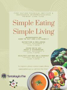 Simple Eating Simple Living Program