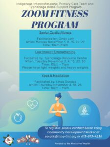Zoom Fitness Program